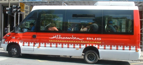 The Alhambra bus 1€